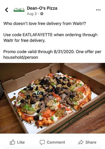 Deano's Delivery with Waitr